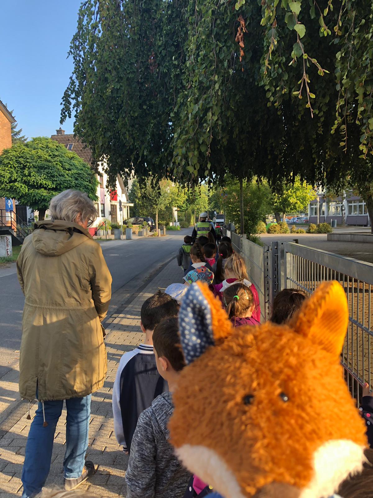 Read more about the article Schulwegtraining mit der Polizei