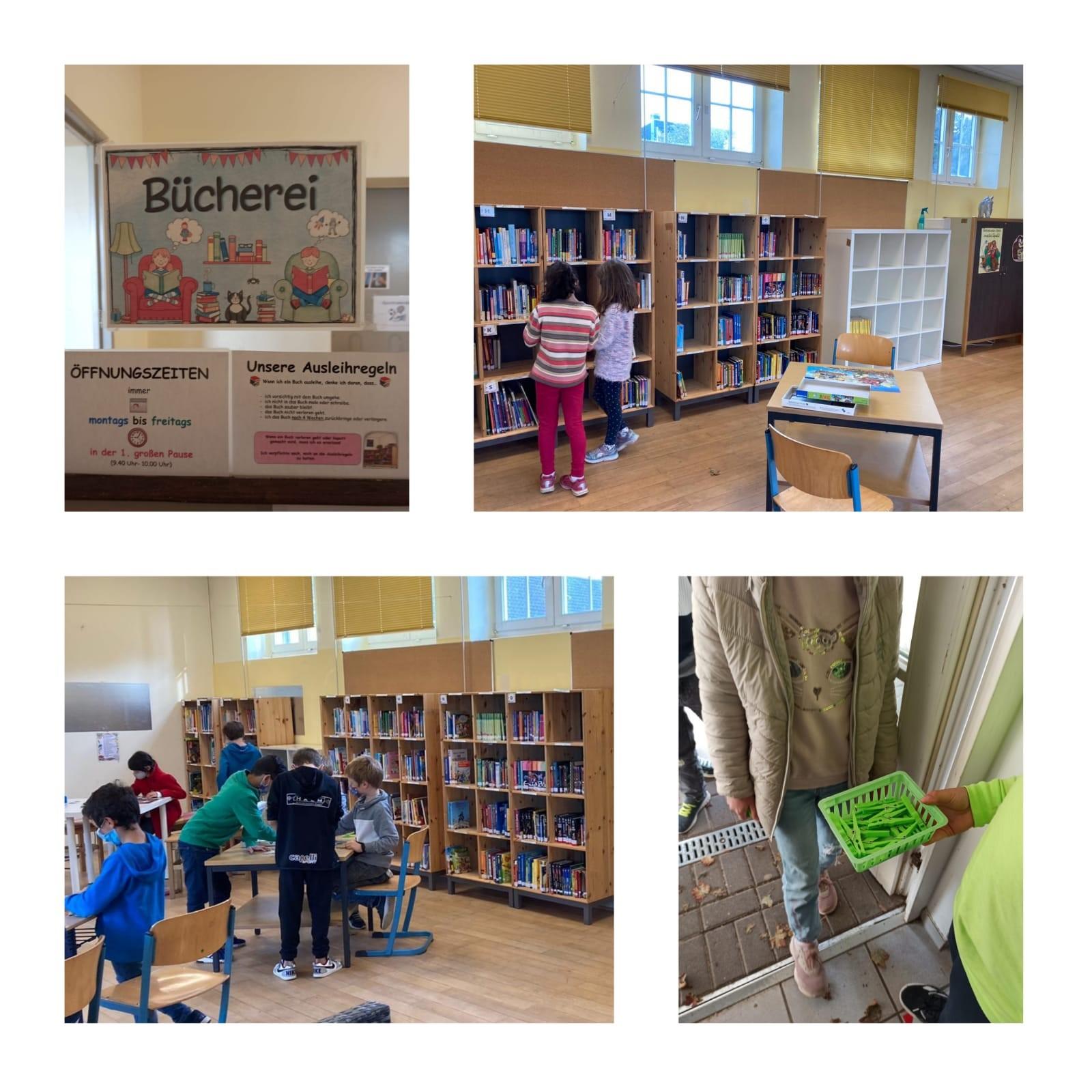 Unsere Schülerbücherei hat wieder geöffnet!