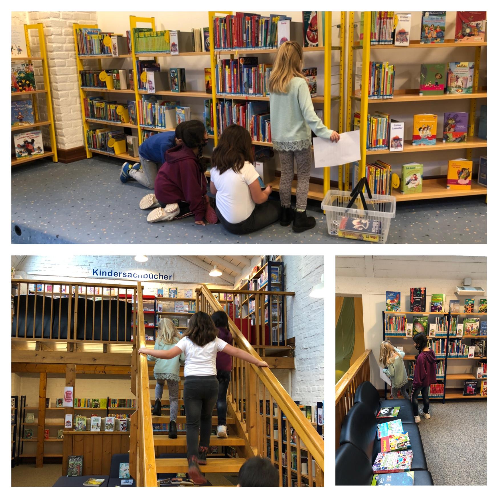 Besuch in der Bücherei