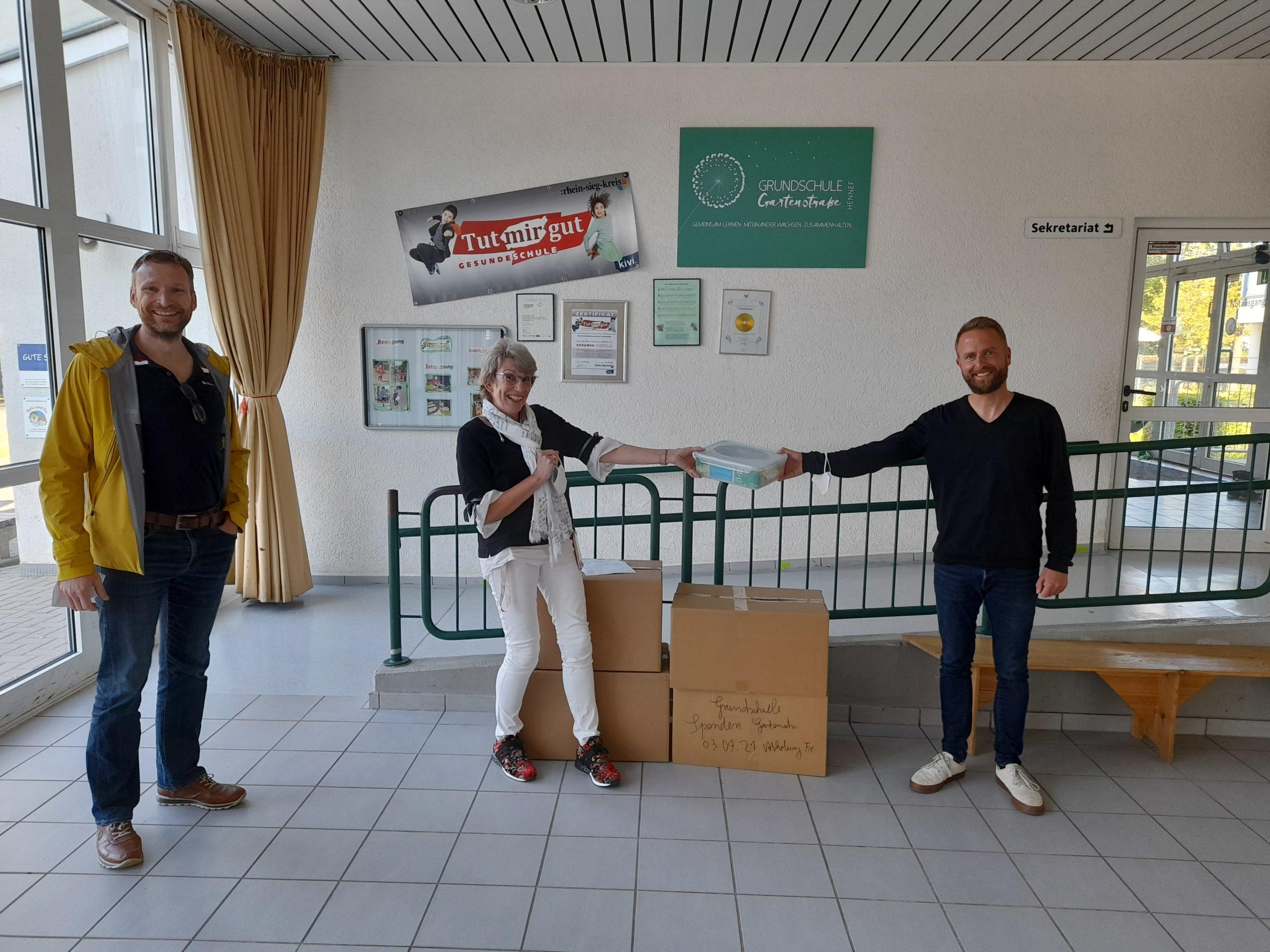 Read more about the article Ausstattung für das Schulobst